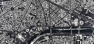 Illustration for article titled These City Maps Are Made Out of Razor Blades and Mirror Shards