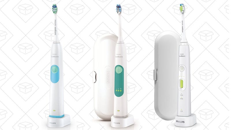Sonicare 2 Series, $30 after $10 Coupon | Sonicare 3 Series, $50 after $10 Coupon | Sonicare HealthyWhite+, $70 after $10 Coupon
