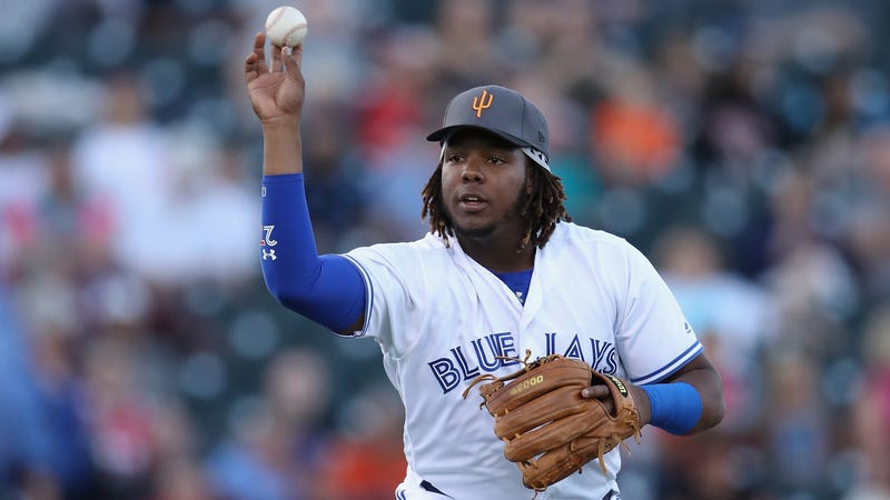 Illustration for article titled Sweaty Blue Jays GM Offers Desperately Flimsy Pretext For Keeping Vlad Jr. In The Minors