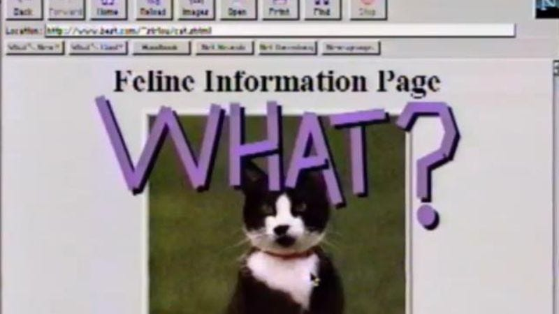 Illustration for article titled This 1995 PSA predicts the future of the Internet