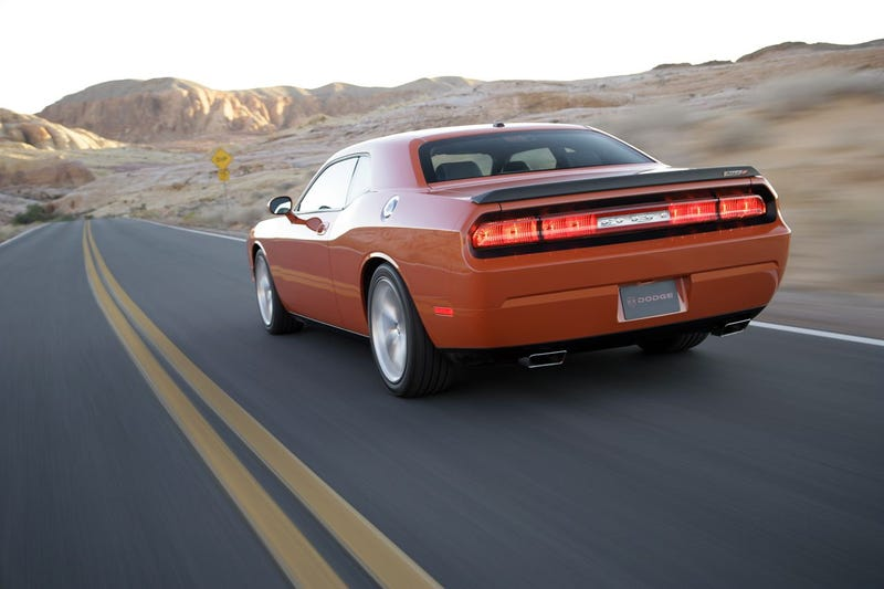 Illustration for article titled 2008 Dodge Challenger SRT8, Now With A Real Rear End