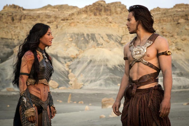 "Illustration for article titled The John Carter Sequel We're Never Getting Would've Been ""Awesome"""