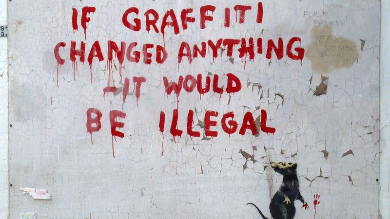 Illustration for article titled Banksy Arrested, Real Identity Revealed