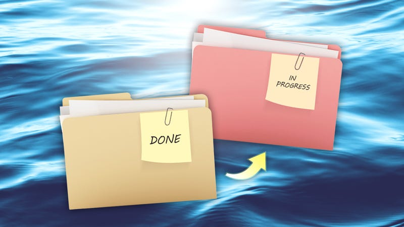 """Illustration for article titled How to Transition Projects Without Losing Your """"Flow"""""""