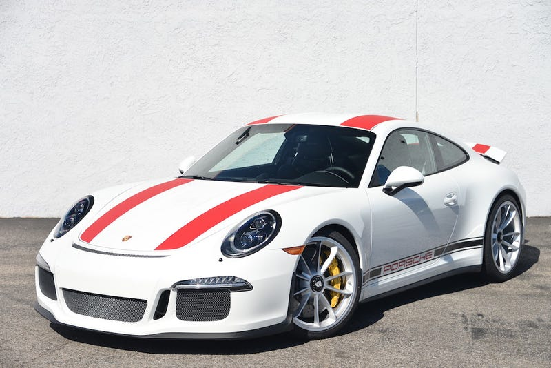 the first porsche 911 r is for sale in the us and its price is astronomical