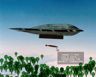 Illustration for article titled LJDAM Adds GPS and Laser Guidance to Bombs