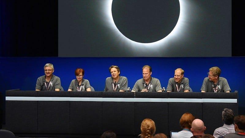 NASA panel.