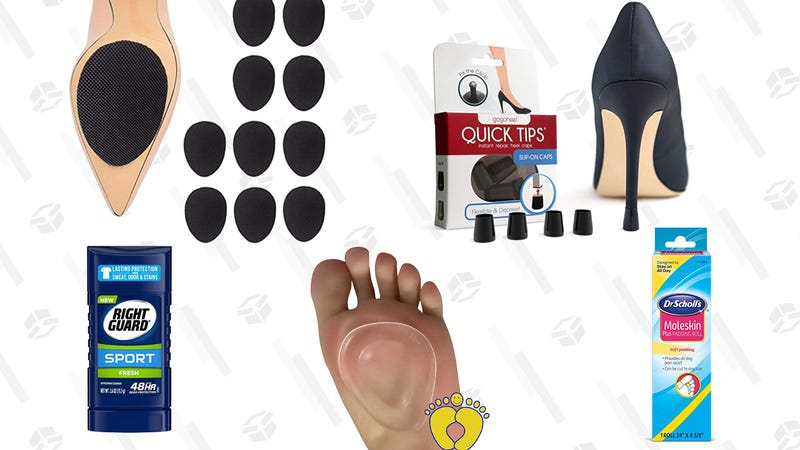 Illustration for article titled Lessen the Torture That Is High Heels With These Five Foot-Saving Products