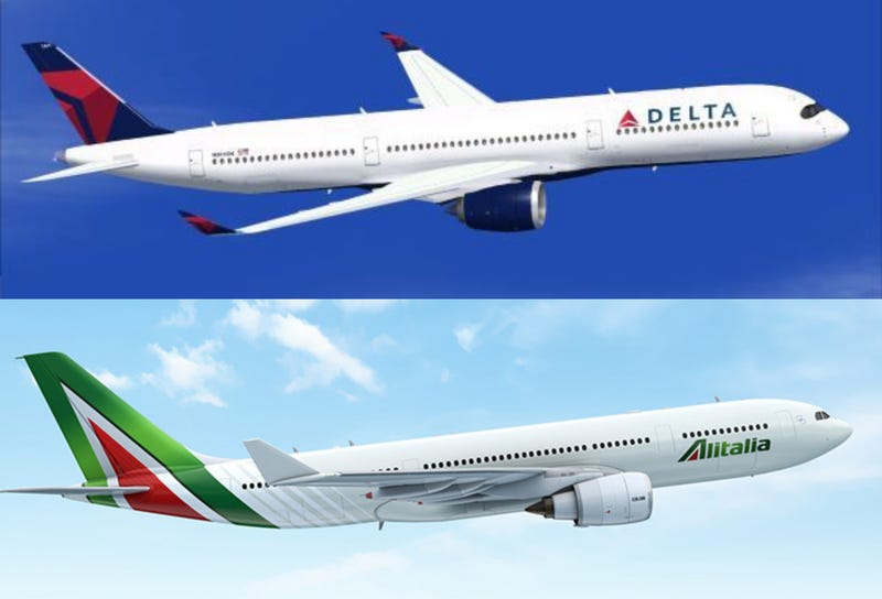 Illustration for article titled Delta won't speculate on Alitalia partnership