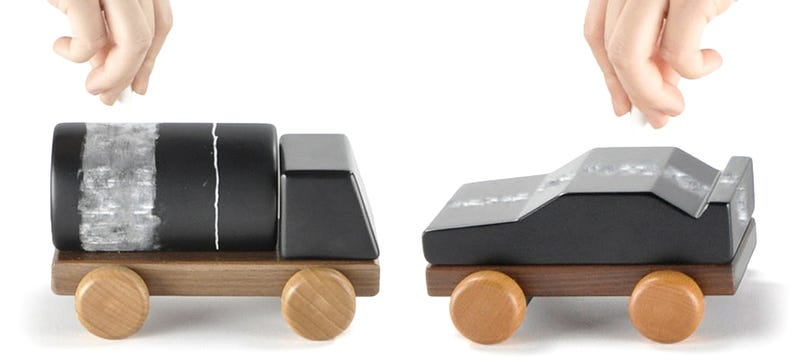 Illustration for article titled Build Cars and Trucks With These Wooden Blocks, Not Castles
