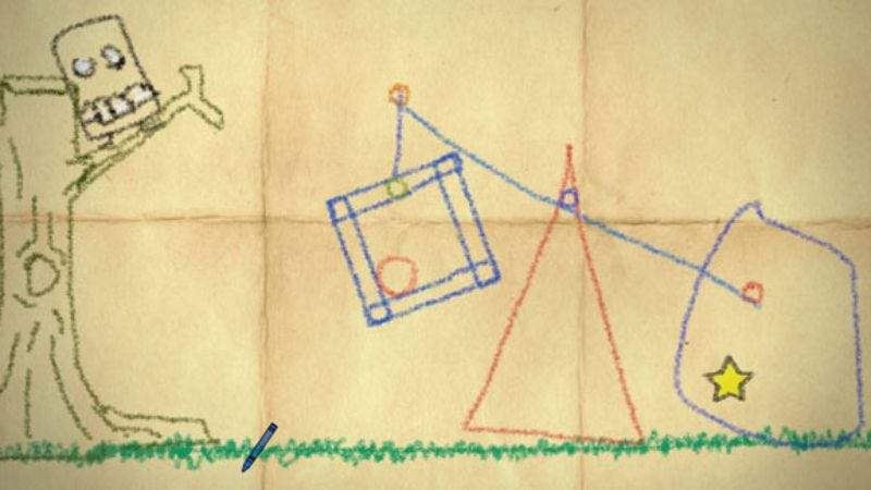 Illustration for article titled Crayon Physics Deluxe