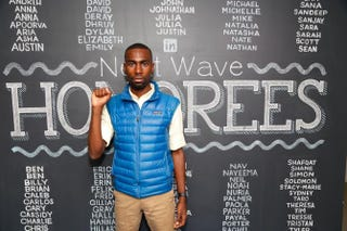 DeRay Mckesson in New York City, Sept. 9, 2015Joe Kohen/Getty Images for LinkedIn