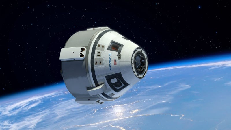 Illustration for article titled Boeing's New Space Taxi Has the Cleanest Cabin on Earth