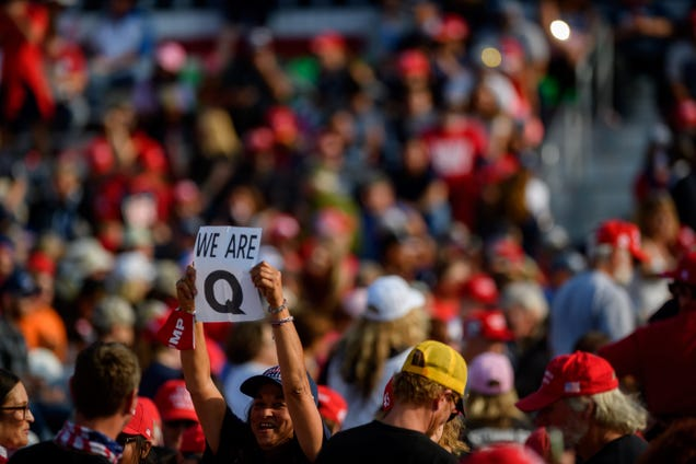 New Social Media Site From Team Trump Upsets Qanon Faithful With Hentai and Men In Diapers