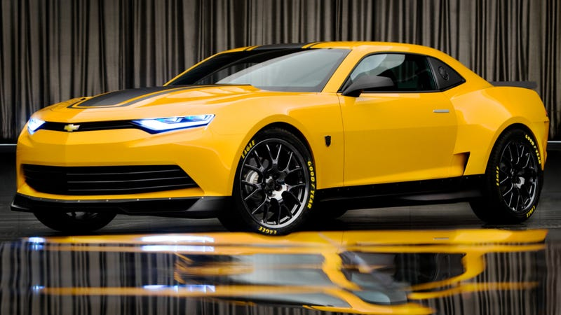here is the crazy concept bumblebee camaro for transformers 4. Black Bedroom Furniture Sets. Home Design Ideas
