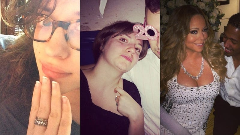 Illustration for article titled Selfie Loathing: Kat Dennings Shows Off Her Horrible Manicure