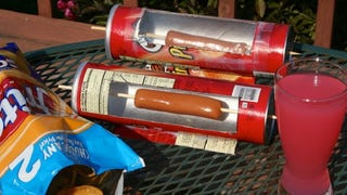 Cook Hot Dogs with a Pringles Can