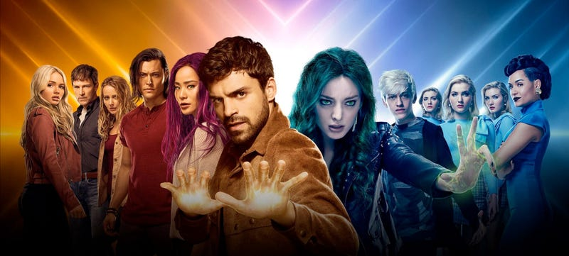 The cast of The Gifted.