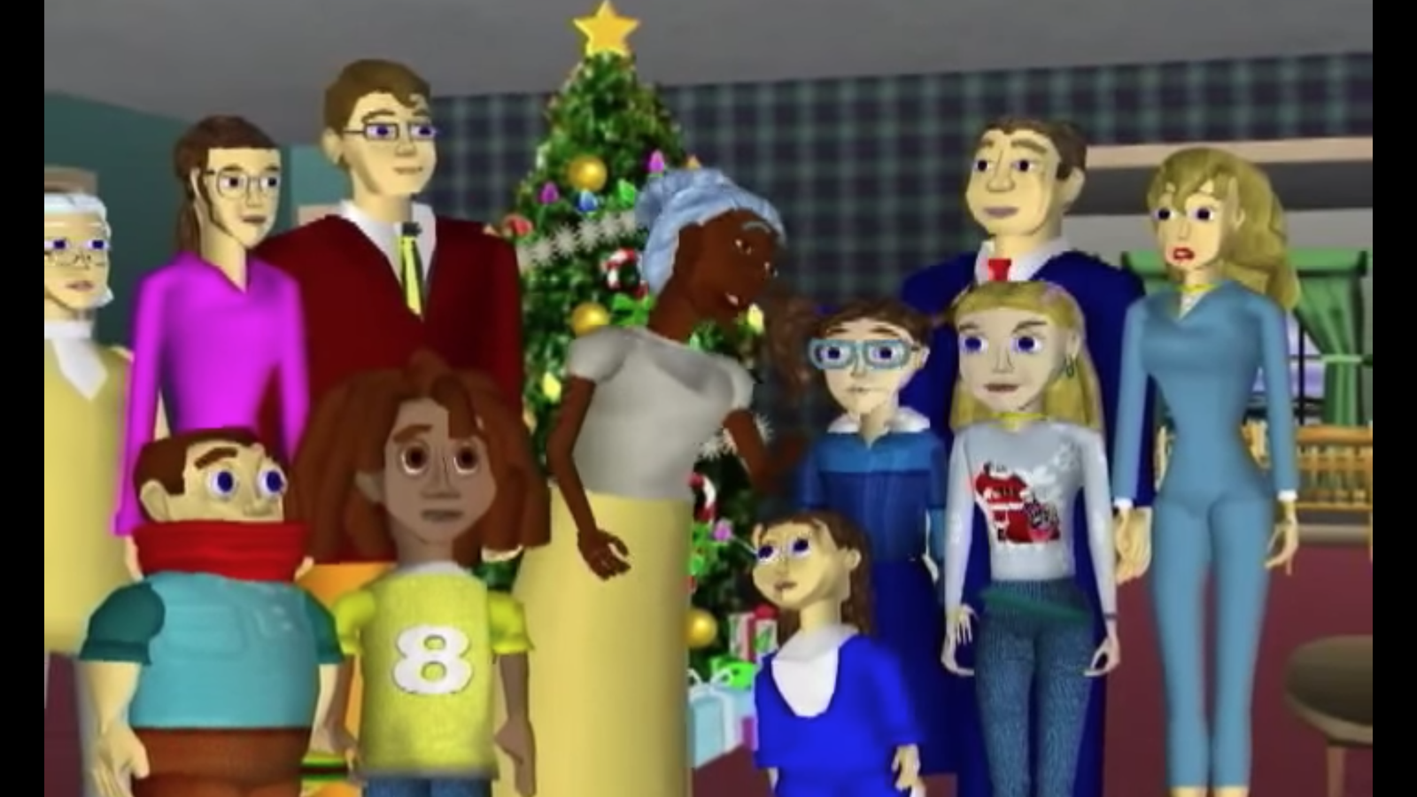Spread some holiday fear with this horrific 2002 computer-animated ...