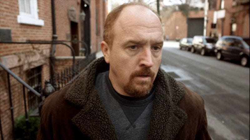 Louie C.K., potential time-traveling Archie, in Louie