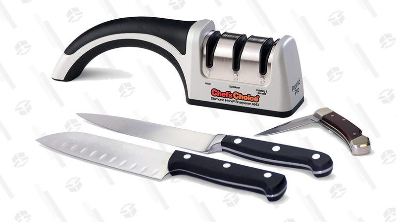 Chef'sChoice ProntoPro Manual Knife Sharpener | $36 | Amazon