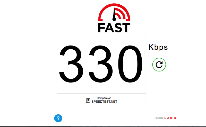 Illustration for article titled I can't believe I'm paying $60 a month on speeds like this. UGH.