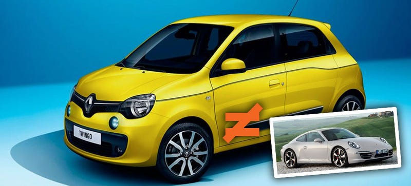 Illustration for article titled The Poor Renault Twingo's Never Going To Get A Fair Shake