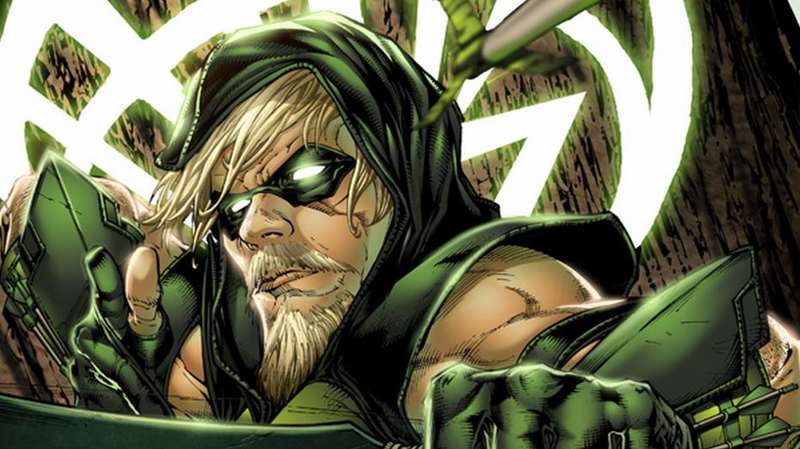 Green Arrow, with the Arrow Goatee. That's what it's called, right?