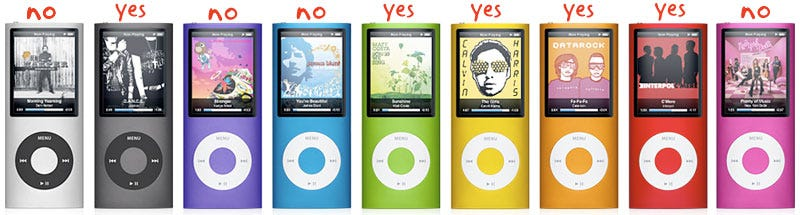 Illustration for article titled New iPod Nano Color Review