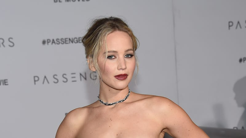 Jennifer Lawrence sick at Broadway show