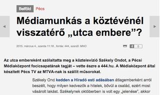 Illustration for article titled Médiatörténet: a Magyar Nemzet átvette a 444 leleplezését