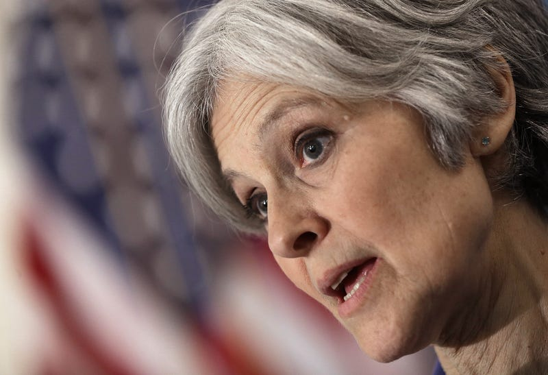 Green Party presidential nominee Jill Stein in 2015Win McNamee/Getty Images