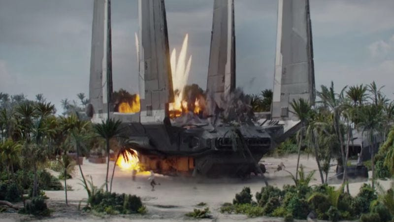 Screenshot: Rogue One trailer