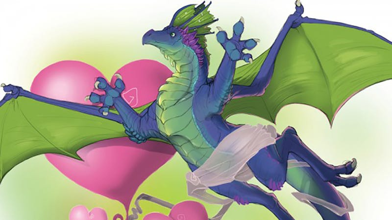 Illustration for article titled Here's the Giant Dragon Dildo You've Been Writing Erotic Fan-Fic About
