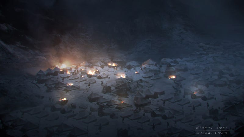 Illustration for article titled Concept Art Of The Most Amazing Image From Last Night's Game Of Thrones