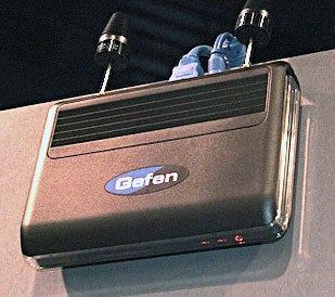 Illustration for article titled NAB07: Gefen's Wireless HDMI is a Work in Progress