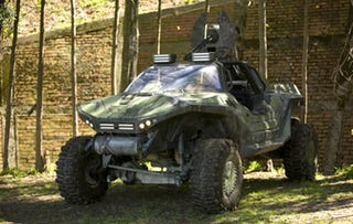 Illustration for article titled Halo Warthog Comes To Life
