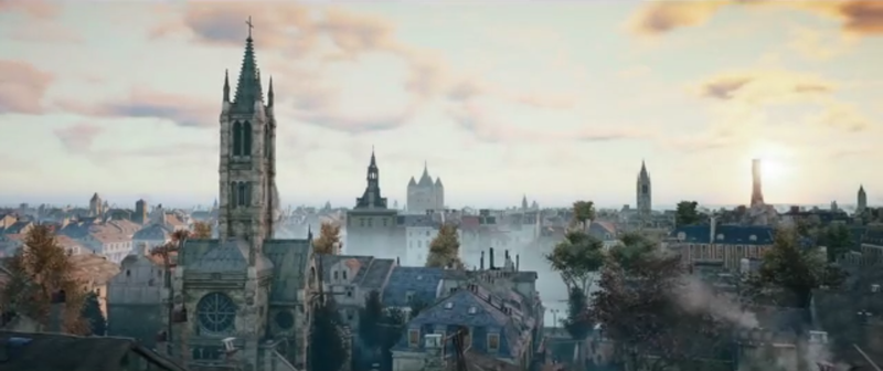 Illustration for article titled Assassin's Creed Unity's Paris Looks Damned Good