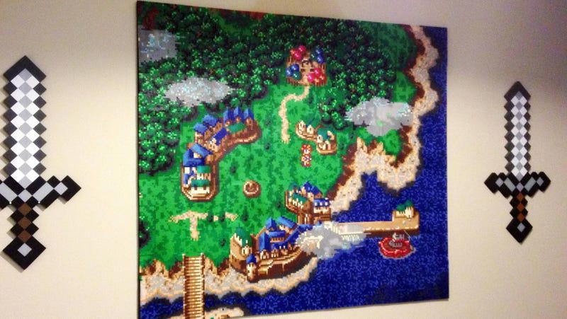 Illustration for article titled This Chrono Trigger Wall Art Will Melt Your Brain
