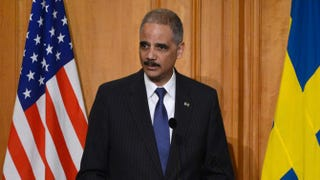 Eric Holder Bertil Enevag Ericson/AFP/Getty Images
