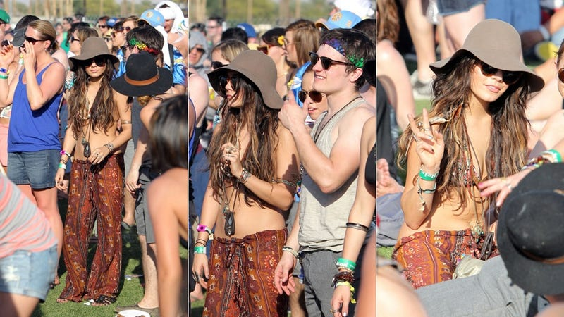 Illustration for article titled Was Vanessa Hudgens Doing Cocaine At Coachella?