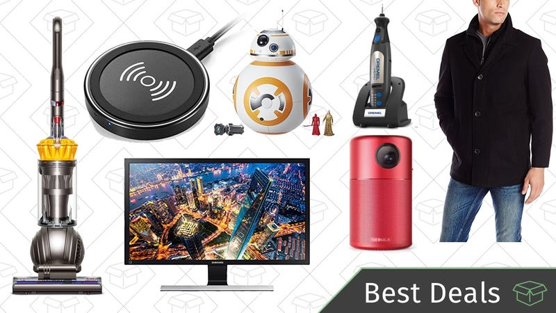 Illustration for article titled Wednesday's Best Deals: Dyson Vacuum, 4K Monitor, Qi Charging Pad, and More