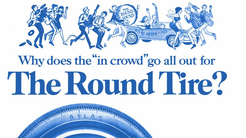 Illustration for article titled Is This The Best Tagline For Selling Tires Ever?