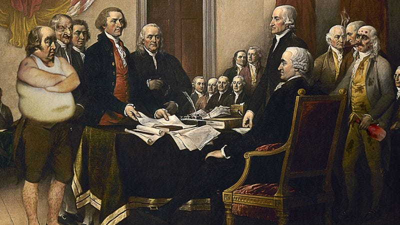 Historians now believe the Founding Uncles were among the first to uncomfortably push the limits of the First Amendment.