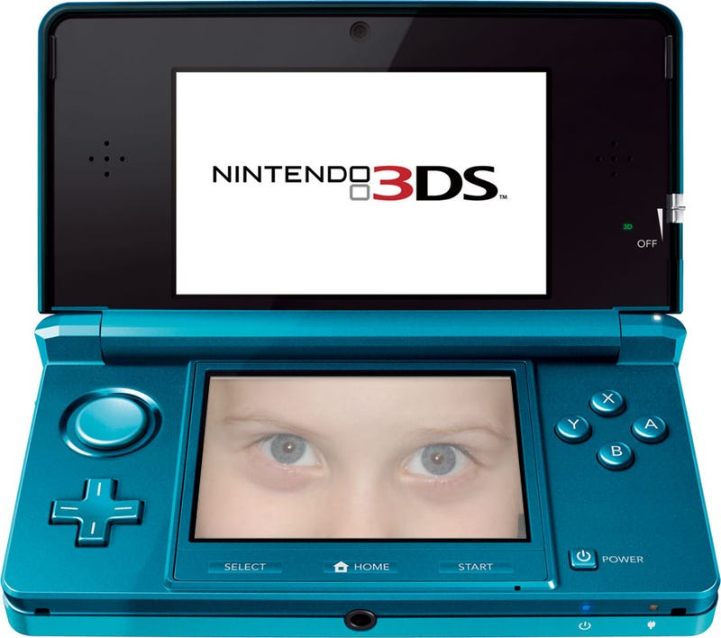 Illustration for article titled Doctors Say The 3DS Is Safe, Potentially Beneficial To Children