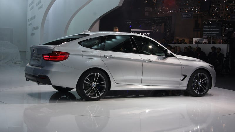 Illustration for article titled The BMW 3-Series GT Showing Its Butt In Geneva