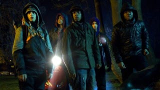 Illustration for article titled Will Attack the Block's British accents get subtitles in the U.S.? Director Joe Cornish answers!