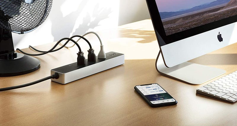 Eve Smart Power Strip with HomeKit | $90 | Amazon | Clip the $10 coupon