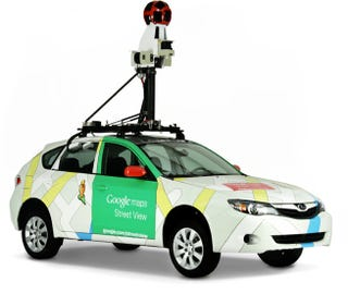 Illustration for article titled A Google Street View Car Just Went Down My Block