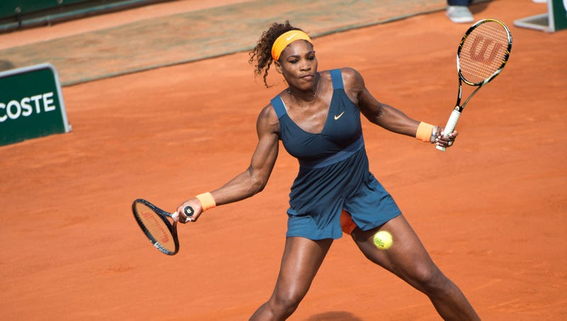 Illustration for article titled Serena Williams Stripped Of Titles After It Revealed She's Been Playing With A Racket In Each Hand This Whole Time
